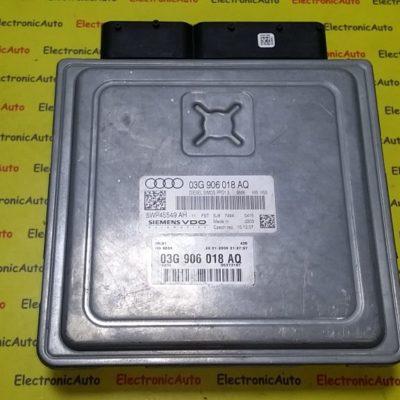 ECU Calculator motor Audi 2.0TDI 03G906018AQ, 5WP45549AH