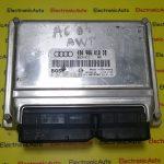 ECU Calculator motor Audi A6  4B0906018DB   4B0 906 018 DB  4BO906018DB, 4BO 906 018 DB  0261207635, 0 261 207 635