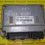 ECU Calculator motor Skoda Fabia 1.2 03D906023N, 5WP40851 04 03D 906 023 N SIMOS 9.1 5WP4085104 SIEMENS  CHFA 5418