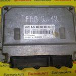 ECU Calculator motor Skoda Fabia 1.2 03E906023AC, 5WP40912 05 03E906023AC 03E 906 023 AC  SIMOS 9.1  5WP4091205 CGPA 5288