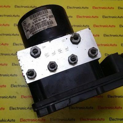 Pompa ABS ESP Mercedes Clasa C,  A 209 545 17 32