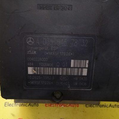 Pompa ABS Mercedes C Class W203 A 035 545 78 32