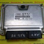 ECU Calculator motor Audi A6 2.5TDI 0281010098, 4B2907401B