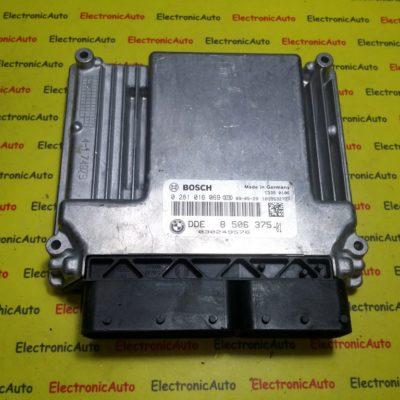 ECU Calculator motor Bmw 118D 0281016069, DDE8506375