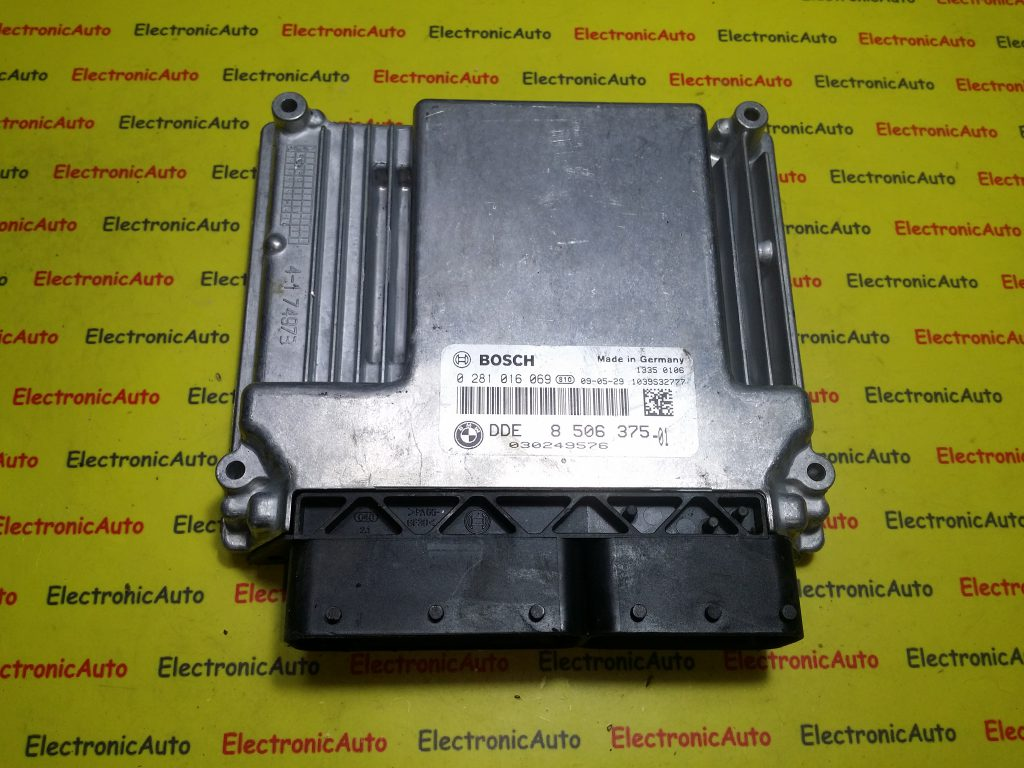 ECU Calculator motor Bmw 118D 0281016069, DDE8506375