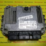 ECU Calculator motor Peugeot 206 1.4HDI 0281012525, 9661376380