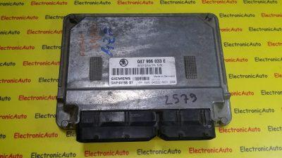 ECU Calculator motor Skoda Fabia 1.4 047906033E, 5WP44198 07