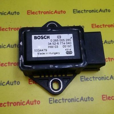 Senzor acceleratie BMW X3 0265005285, 34526774040
