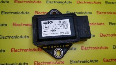 Senzor acceleratie Mercedes 0265005246, A0025426618