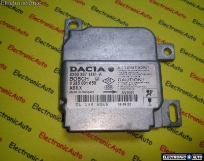 Calculator airbag Dacia Logan 0285001650 8200307188A