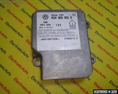 Calculator airbag VAG 6Q0909605B INDEX 02