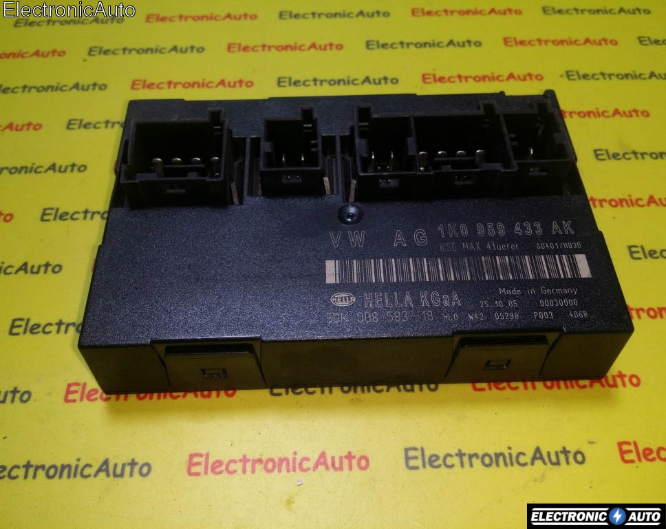 Calculator confort Audi VW Skoda Seat 2004-2007 1K0959433AK