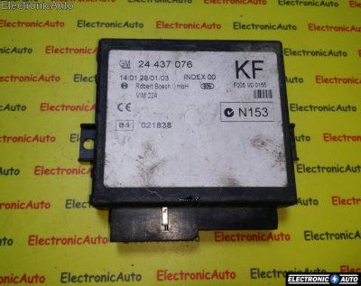 Calculator confort Opel Astra G 24437076 KF