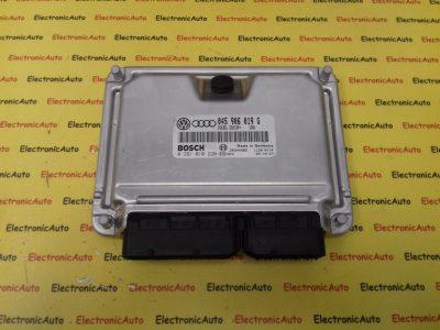 ECU Calculator motor Audi A2 1.4TDI, 0281010220, 045906019G