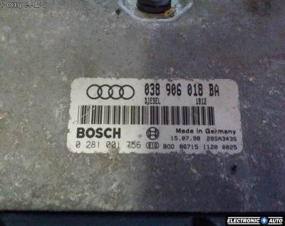 ECU Calculator motor Audi A3 1.9TDI 0281001756 038906018BA