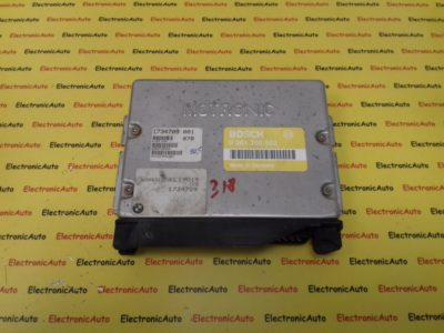 ECU Calculator Motor BMW 316i, 0261200522, 1734709