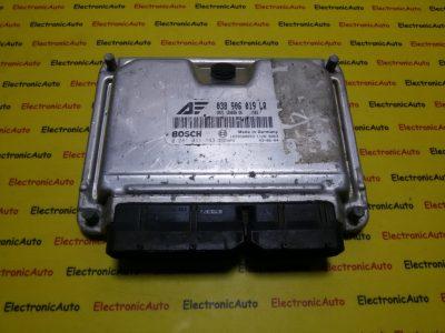 ECU Calculator motor Ford Galaxy 038906019LR, 0281011143