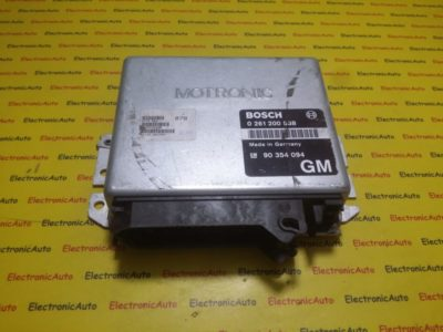 ECU Calculator motor Opel Astra F 2.0 0261200538 GM90354094
