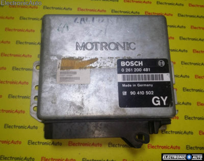 ECU Calculator motor Opel Calibra 2.0 0261200481