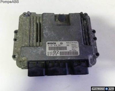 ECU Calculator motor Peugeot 206 0281010707