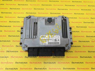ECU Calculator motor Peugeot 407 1.6HDI 0281011558
