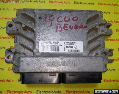 ECU Calculator motor Renault Clio 1.4 8200326391