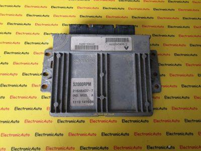 ECU Calculator motor Renault Laguna 1.6 8200158443, 8200045893  S2000RPM