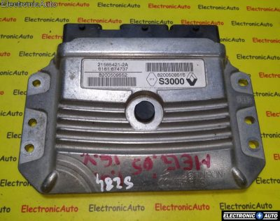 ECU Calculator motor Renault Megane 8200509552, 8200751638