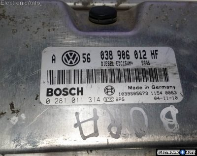ECU Calculator motor VW Bora 1.9TDI 0281011314 038906012HF