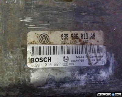ECU Calculator motor VW Caddy 1.9SDI 0281010007 EDC15V AYQ
