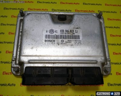 ECU Calculator motor VW Golf4 1.9TDI 0281010302 038906019CJ