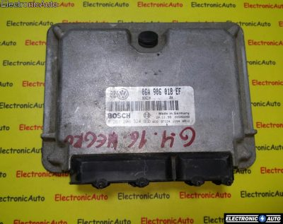 ECU Calculator motor VW Golf4 2.0 0261206324, 06A906018EF