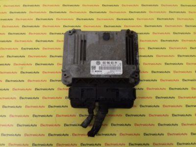 ECU Calculator Motor Vw Golf5 1.9TDI, 0281014061, 03G906021PM