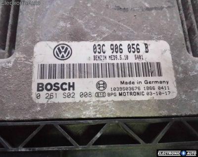 ECU Calculator motor VW Golf5 1.6FSI 0261S02008 MED9.5.10 BAG