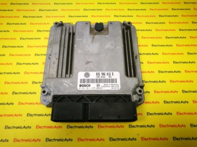 ECU Calculator motor VW Golf5 1.9TDI 03G906016B 0281011478