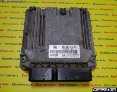 ECU Calculator motor VW Golf5 2.0TDI 0281011477, 03G906016AN
