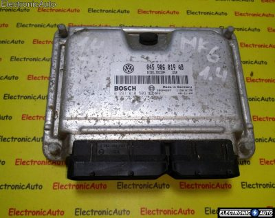ECU Calculator motor VW Polo 1.4TDI 0281010503, 045906019AB
