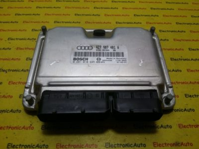 ECU Calculator motor Audi A6 2.5TDI 0281010445, 4Z7907401A