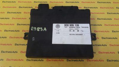 Modul Control keyless VW Tuareg 3D0909139, 3D0 909 139