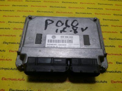 ECU Calculator motor VW Polo 03E906033, 5WP4018905