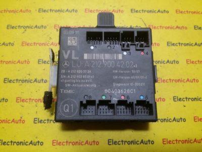 Calculator confort Mercedes A2129004202