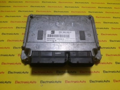 ECU Calculator motor AZQ Seat Ibiza 1.2 03E906033P, 5WP4019605