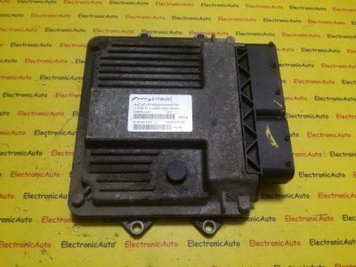 ECU Calculator motor Fiat Grande Punto 1.3JTD 51796241, 7160001906