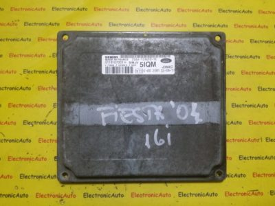 ECU Calculator motor Ford Fiesta 1.6 2S6A12A650TE, S118107003H