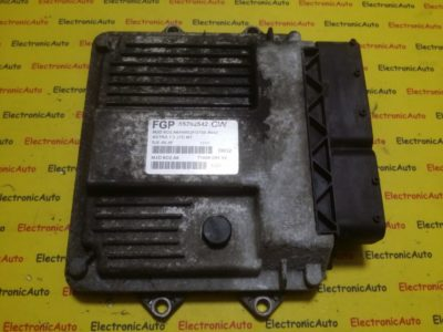 ECU Calculator motor Opel Astra H 1.3CDTI 55202542, 7160009402