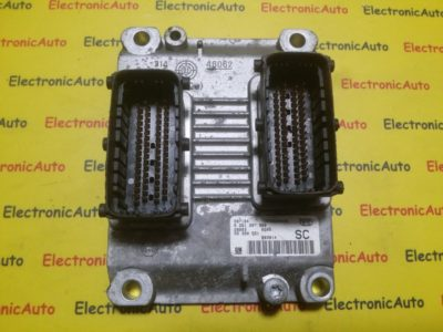 ECU Calculator motor Opel Corsa C 1.0 0261207960, 55350551