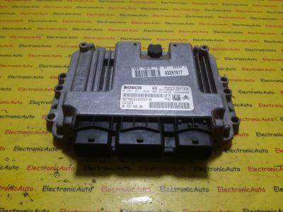 ECU Calculator motor Peugeot 307 1.4HDI 0281011090, 9653202680