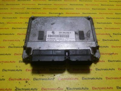 ECU Calculator motor Skoda Fabia 1.2 03D906033C, 5WP4029203