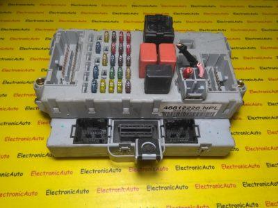 Imobilizator+panou de sigurante Fiat Punto 46812228NPL, 46552681CPL, 46812231