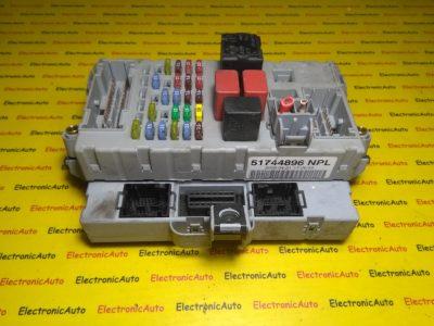 Imobilizator+panou de sigurante Fiat Punto 51744896NPL, 51744895
